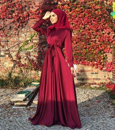 Elegant Hijab Party Dresses Ideas - Need Some Long Sleeve Party Dresses With Hijab Outfit Ideas, Then You've Come To The Right Place - image:@inyuu.0 - Long Sleeve Party Dresses- Bridesmaid Dresses - Simple Party Dresses With Hijab - Party Dresses Hijab Style - Classy Party Dresses With Hijab Fashion - Garden Party Dress With Hijab Fashion - Hijab Dress Party -Hijab Prom Dress #hijabfashion #hijaboutfit #hijabfashioninspiration #hijabdressparty #dubaifashion
