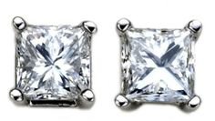 Platinum, Princess-Cut, Diamond 4-Prong Stud Earrings (1/2 cttw, G-H Color, VS2 Clarity) Amazon Curated Collection, http://www.amazon.com/dp/B000EOW9OM/ref=cm_sw_r_pi_dp_Tgvtqb04EECPN