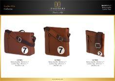 #Borse in #pelle - Brown n. 7 / #Leather #bags - Brown n. 7 by ITALUXURY | #Luxury Leather Goods & Accessories - Made in Italy. Website: www.italuxury.com