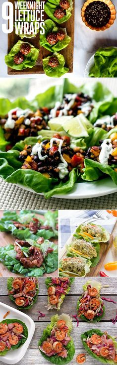 9 Weeknight Lettuce Wraps