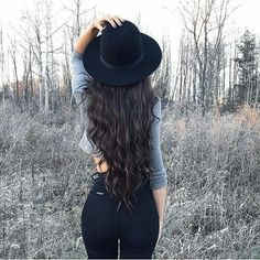 Black and gray. Hat