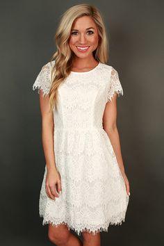 Princess Lace Mini Dress