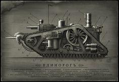 wallpaper desktop steampunk, 203 kB - Tucker Murphy