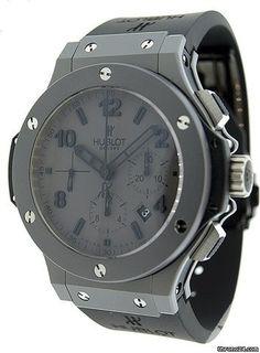 Hublot Tantalum Big Bang Matte Grey Chronograph Men's Watch 301.AI.460.RX