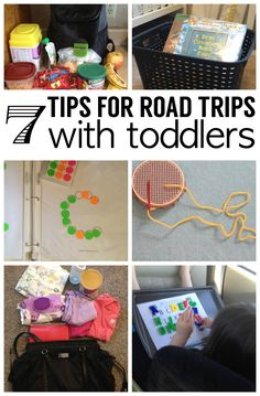 We travel over 500 miles a lot with our kids under 3. Here are my top 7 tips for surviving road trips with toddlers.