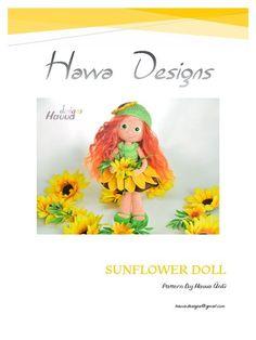 Sunflower Doll - Havva Unlu [Crochet Pattern]