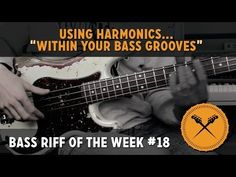 Using harmonics within Your Bass Grooves (L#146) - Online Bass Lessons