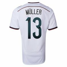 Nueva Camiseta de M.LLER del Alemania Primera 2014 2015
