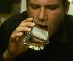 Blade Runner Deckard Whiskey Glass
