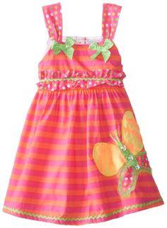 Nannette Little Girls' Butterfly Print Dress, Orange, 5 Nannette http://www.amazon.com/dp/B00HT271WM/ref=cm_sw_r_pi_dp_EQIjub1B7RPNK