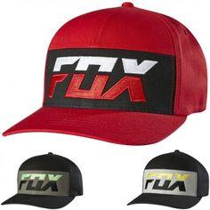 Fox Racing Mens Mako Flexfit Motocross MX Casual Caps Hats