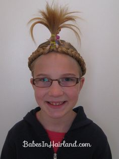 Image result for crazy hair style