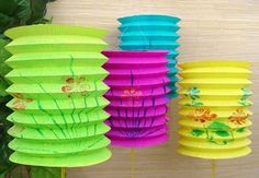 paper lanterns for lunar new year decoration