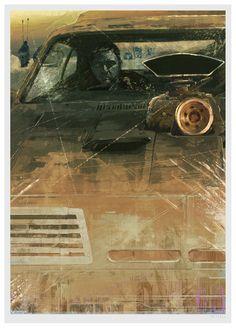 Mad Max: Fury Road - Poster illustration