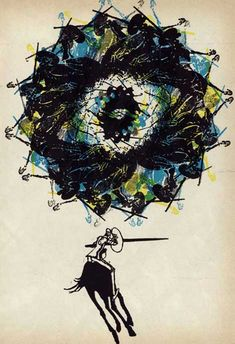 Don Quixote Illustrations by Roberto Paez, 1969 - 3 Ton Gallery