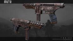 ArtStation - Pistols, Aleksandr Bobrishev