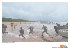 """History Channel Worldwide Brand Campaign, """"Know Where You Stand"""" - Normandy. By Seth Taras History Channel, Time Travel Pictures, Art Expo, Normandy Beach, Normandy France, Channel Branding, Brand Campaign, Photography Series, Conceptual Photography"""