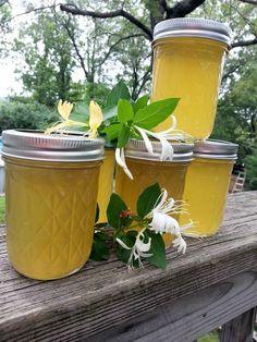 Honeysuckle Jelly - My cousins makes!