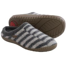 Haflinger AT Senso Boiled Wool Slippers (For Women) - Save 38%