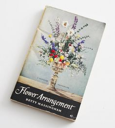 this seems super time intensive and not sure how useful it is, but adore the idea. Hand Embroidered Vintage Paperback Book: FLOWER ARRANGEMENT by Betty Massingham Penguin Books Uk, Vintage Flower Arrangements, Book Cover Design, Bookbinding, Paperback Books, Embroidered Flowers, Vintage Books, Cross Stitch Embroidery, Book Art