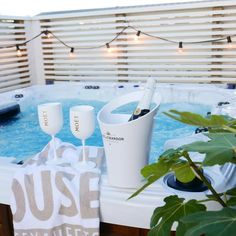 At the pool by @lifestylebyl Beach House Company Bath Towel