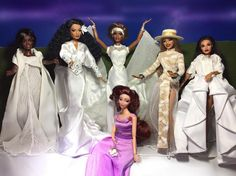 Meg and The Muses, in Doll form!