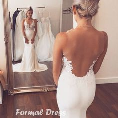 Cheap mermaid wedding gowns, Buy Quality wedding gowns directly from China wedding gown with train Suppliers: Boho Wedding Dresses Sexy Sheer Vestidos De Noiva Cheap Bridal Dresses Casamento Sleeveless Mermaid Wedding Gowns With Train Dream Wedding Dresses, Bridal Dresses, Wedding Gowns, Ivory Wedding, Party Dresses, Bridesmaid Dresses, Dresses 2016, Dress Prom, Long Dresses
