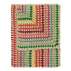 Stripe Crochet Throw @ CathKidston