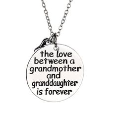 The Love Between a Grandmother and Granddaughter is Forever awe.... I miss my grandma....