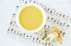 Creme de couve flor, cenoura e gengibre • Cauliflower, carrot and ginger soup