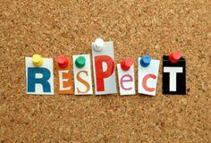 Lesson – Respect