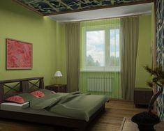 HOUSE INTERIOR | Bedroom interior design: green bedroom | http://house-interior.net   #bedroom #bedroomdecor #design #interiordesign #interior #homedecor #home #homedesign #decor