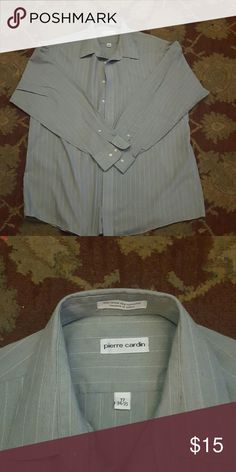 Pierre Cardin long sleeve dress shirt. Pierre Cardin long sleeve dress shirt size 17. Pierre Cardin Shirts Dress Shirts