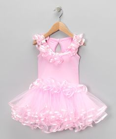 Look at this Popatu by Posh Pink Ruffle Tutu Dress - Toddler & Girls on today! Baby Tutu Dresses, Toddler Girl Dresses, Little Girl Dresses, Dance Dresses, Girls Dresses, Flower Girl Dresses, Toddler Girls, Summer Dresses, Cute Fashion