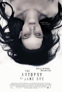 Todo corpo esconde um segredo no pôster de The Autopsy of Jane Doe | Boca do Inferno