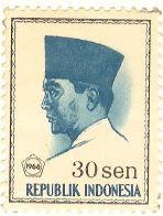 Selos - Stamp Collecting: 1966 - República da Indonésia / Republic of Indone...