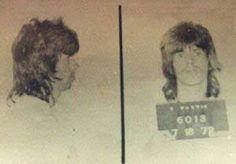 Keith Richards – Musician Mug Shots The Doors, Keith Richards, Funny Mugshots, Celebrity Mugshots, Anita Pallenberg, Ron Woods, Jailhouse Rock, People Of Interest, Rock Legends