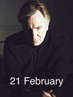 Forever Alan Rickman's birthday. He would have been 70 today. Happy birthday, Alan, and rest in peace. Even though you are no longer here with us,  we are celebrating your life today. Ate some Ben and Jerry's ice cream for you tonight and I plan to watch one of your movies (probably either A Little Chaos or Sense and Sensibility) while I grade undergrad papers and drink a cup of tea in your honor later tonight. May God bless your sweet soul, you beautiful person - we all miss you like crazy…