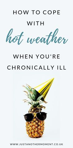 Do you struggle when the weather starts to warm up because of your chronic illness? Here's why and how you can start to cope better. Chronic Kidney Disease, Autoimmune Disease, Chronic Pain, Lyme Disease, Rheumatoid Arthritis, Heat Rash, Chronic Fatigue Syndrome, Fatigue Symptoms, Adrenal Fatigue