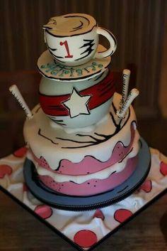 Cat in the Hat birthday cake