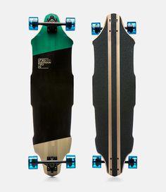 Dimension Two Longboards on Behance
