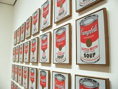 Andy Warhol, Cambel's Soup | Painting (1962)