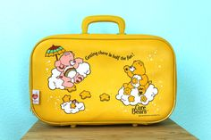 vintage 1983 Care Bears bright yellow child's by SonAndHeirVintage, $22.00