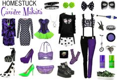"""Homestuck Fashion: Gamzee Makara"" by khainsaw ❤ liked on Polyvore"