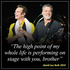 David Lee Roth, My Whole Life, Van Halen, High Point, Music, Musica, Musik, Muziek, Music Activities