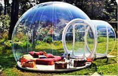 Clear New Millennium Bubble Tent 3-4 person includes infl...