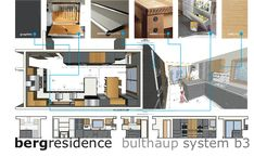 Professional Interior Design Presentation Board