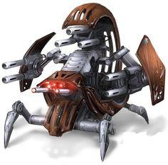 The Separatist war machine Star Wars Clones, Star Wars Droides, Star Wars Ships, Images Star Wars, Star Wars Characters Pictures, Star Citizen, Starwars, Edge Of The Empire, Star Wars Spaceships
