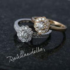Assi Arnimaan suunnittelemat ihanat, romanttiset Kohinoor Aino-timanttisormukset. Diamond Earrings, Jewelry, Jewlery, Jewerly, Schmuck, Jewels, Jewelery, Diamond Drop Earrings, Fine Jewelry