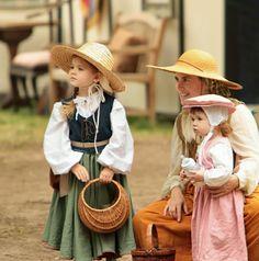 Family Renaissance Faire costume